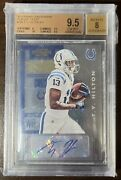 T.y. Hilton 2012 Contenders Rookie Playoff Ticket /99 Auto Bgs 9.5 Autograph Ty