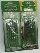 2 Yankee Candle Scented Christmas Icicles Balsam Cedar