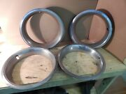 Oem 1967-1969 Camaro Ss/rs Chevelle And Nova 14 4 Clip Trim Beauty Rings 4