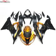 Motorcycle Abs Fairings For Zx6r 2013 2014 2015 2016 2017 2018 Zx-6r Gold Black