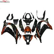 Motorcycle Black Abs Fairings For Zx10r Zx-10r 2011 2012 2013 2014 2015 Bodywork