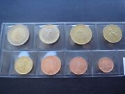Italy 2012 Year Unc Coin Set From 1 Cent - 2 Euro Total 8 Coins 388 Euro
