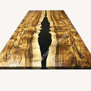 Epoxy Resin Dining Table Coffee Table Top Custom Made Dining Table Top Decor