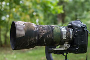 Canon 100-400mm F4.5-5.6 L Is Mk1 Neoprene Lens Protection Camouflage Covers