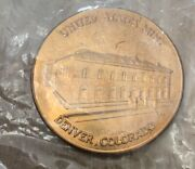1789 Denver Colorado Co Department Treasury United States Us Mint Medal Sealed