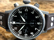 Laco Chronograph Manduumlnchen Limited Edition Military Watch Box Papers 862124