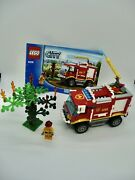 Lego City Fire Truck 4208.retired 100 Complete With Minifigure, Manual. No Box