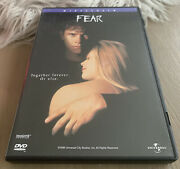 Fear Dvd Widescreen Reese Witherspoon Mark Wahlberg Alyssa Milano Movie