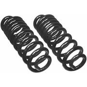 For Ford F-150 E-150 Econoline Front Coil Spring Set Moog Chassis Products