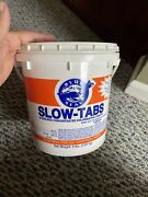 Chlorine Tablets Blue Seal Slow Tabs Pool 8 Pounds Lbs