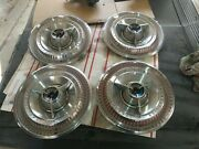 1965 Ford Thunderbird Special Landau 15 Inch Deluxe Spinner Hubcapsemberglow