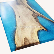 Epoxy Dining Table Top, Dining, Sofa, Center Table Acacia Wood Outdoor Furniture