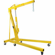 Jegs 81044k 1-ton Automotive Shop Crane [boom Operating Range 34 In. To 45 In.]