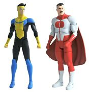 Invincible And Omni-man Series 1 Action Figure Pre-order Release Date Is 7/2/2021