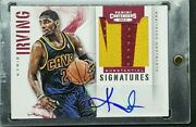 Kyrie Irving 2012-13 Panini Contenders Rc Patch Auto /10 Prime