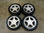 99 00 01 02 03 04 Ford Mustang Gt Oem Factory 17 Wheels Center Caps Tires T62