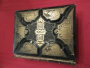 Antique Holy Bible 1881 Illustrated Throughout + Bible Encyclopedia And Apocrypha