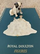 Mint Vintage Antique Royal Doulton 1969 Book And Fine China Bulldog Figurine