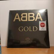 Abba - Greatest Hits - 2 X Vinyl Records Lp - Gold Limited Edition