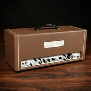 3rd Power Kitchen Sink 6vel 40w Hand-wired Amp Head W/ Footswitch Andndash Cocoa Levant