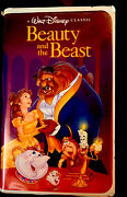 Walt Disney Classic Andldquocollectables Only Vintage Andldquobeauty And The Beastand039 Vhs