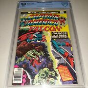 Jack Kirby Signed Captain America 202 1976 Cbcs 9.0 Not Cgc Kirby Cover