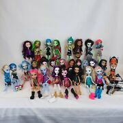 Monster High Ever After Doll Lot - 31 Monster High 2 Ever After W/ Accessories
