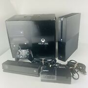Microsoft Xbox One Day One Edition Console 500gb With Kinect - Complete In Box
