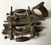 Vintage Stanley No 55 Combination Wood Plane With Fences