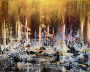 Luis Da Cruz New York City 180 Emotions Abstract Expressionist Painting 2018