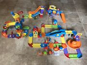 Huge Lot Of Vtech Go Go Smart Wheels Playsets And Cars