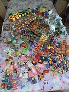 Vintage Mcdonaldandrsquos Bk Happy Meal Toys Huge Lot 300+ Pieces Late 80s And Early 90s