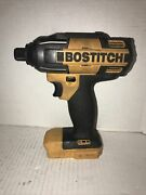 Bostitch 18v Impact Driver Btc440 Tool Only Works Perfectly