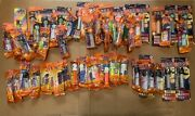 Lot Of 59 Halloween Pez Dispensers Witch Pumpkin Ghost Bat Great Condition