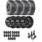 Jegs 681010k34 Wheel And Tire Kit For 1987-2006 Jeep Wrangler/1984-2001 Jeep