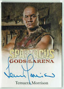 Spartacus Gods Of The Arena Autograph Card Temuera Morrison As Doctore