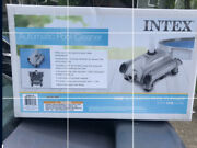 Intex Above Ground Swimming Pool Automatic Vacuum Cleaner 28001e 🔵 New In Box