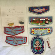 Lot Of Boy Scout Patches Order Of Arrow And Other Items