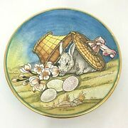 Easter By V Tiziano 1973 Veneto Flair Italy Art Plate Hand Etched 8 1/2 626