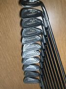 """Tommy Armour Silver Scot 855s 1-9, P, And W-4 Th Graphite Shaft """"see Description"""""""