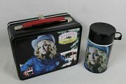 Madonna Music Metal Lunch Box With Thermos 2000 Rare Collectible Neca