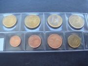 Spain 2004 Year Unc Coin Set From 1 Cent - 2 Euro Total 8 Coins 388 Euro