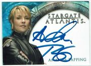 Stargate Heroes 2009 Autograph Card Amanda Tapping As Colonel Samantha Carter