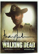 The Walking Dead Season 2 Autograph Card A1 Andrew Lincoln As Rick Grimes