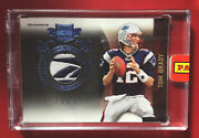 Tom Brady 2011 Panini Plates And Patches Prime Jersey Logo Patch 1/5 Factory