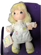 1988 Precious Moments December Doll Of The Month 2nd Edition W/ Dust Cover