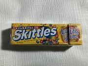 Skittles Bubble Gum Carnival Fun Expired Candy Sealed New Rare Flavor Collector