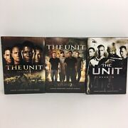 The Unit Dvd Sets Complete Seasons 1 2 3 Tv Series Covert Warriors Unsung Heroes