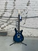 Paul Reed Smith Ce 24 2021 Royal Blue Wrap Burst One-off