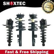 Full Set Complete Struts Fits 2005-2007 Ford Five Hundred And Mercury Montego
